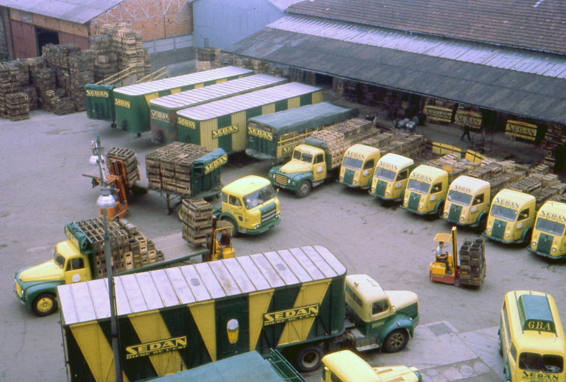 camions sedan gba biere brasserie