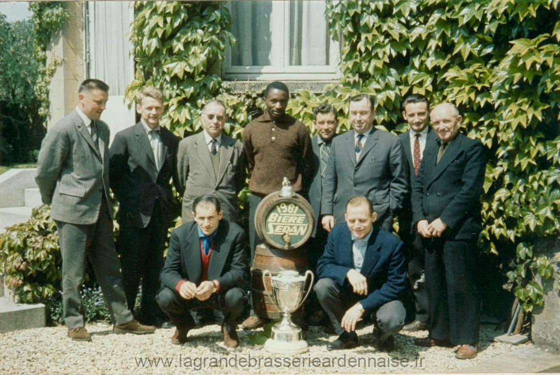 Bière de la coupe de France 1961.