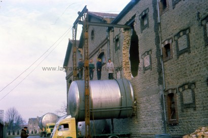 montée tank 1962 site