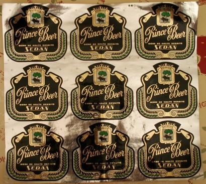 Planche d'étiquette